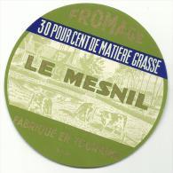 étiquette De Fromage:   Camembert  : Le MESNIL  Touraine - Formaggio