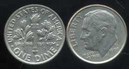 UNITED STATES - USA - 10 Cents  Dimes  1993 D - Émissions Fédérales
