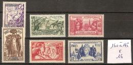 Saint Pierre Et Miquelon 160 à 165 * Côte 16 € - St.Pierre & Miquelon