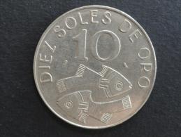 1969 - 10 Soles De Oro - Pérou - Peru - Pérou