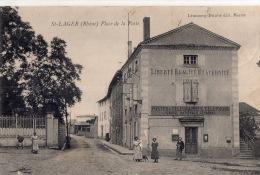 """SAINT LAGER """" Place De La Poste"""" - Sonstige Gemeinden"""