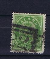 Iceland: 1876, Mi Nr 11 A  Perfo 14 : 13,5 Used - 1873-1918 Deense Afhankelijkheid