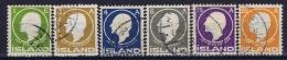 Iceland: 1911, Mi Nr  63 - 68   Used - 1873-1918 Deense Afhankelijkheid