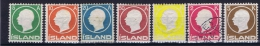 Iceland: 1912, Mi Nr  69 - 75 MH/* And Used 5 K Is Signed - Ongebruikt