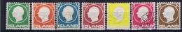 Iceland: 1912, Mi Nr  69 - 75 MH/* And Used 5 K Is Signed - 1873-1918 Deense Afhankelijkheid
