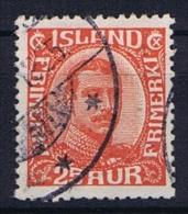 Iceland: 1921, Mi Nr  102  Used - 1918-1944 Autonoom Bestuur