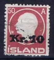 Iceland: 1925, Mi Nr  120 Used - 1918-1944 Autonoom Bestuur