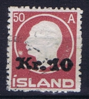 Iceland: 1925, Mi Nr  120 Used - Gebraucht