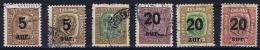 Iceland: 1921, Mi Nr  104 - 109  Used - Used Stamps