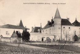 """SAINT ETIENNE La -VARENNE """" Chateau Du Bluizard"""" - Frankreich"""