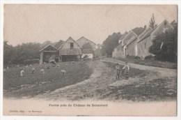 Ferme Près Du Château De Boisemont (carte Vendue En L´état - Voir Descriptif) - France