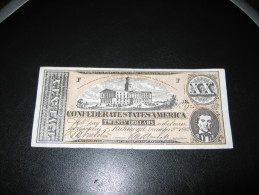 FAUX ? ° BILLETS ° ETATS UNIS ° CONFEDERATION ° CONFEDERATE STATES OF AMERICA ° 20 DOLLARS 1862 ° Us Usa Western - Confederate Currency (1861-1864)