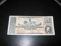 FAUX ? ° BILLETS ° ETATS UNIS ° CONFEDERATION ° CONFEDERATE STATES OF AMERICA ° 20 DOLLARS 1862 ° Us Usa Western - Valuta Della Confederazione (1861-1864)