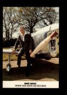 44 - BOUGUENAIS - René Leduc Devant Son Avion Des Records - Inauguration Extension De L´Aéroport Mai 1984 - Bouguenais
