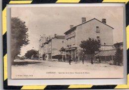 TYPE PRECURSEUR. - . AMBERIEU - QUARTIER DE LA GARE - ROUTE DE ST-DENIS - Autres Communes