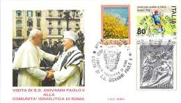 ITALIE RELIGION CATHOLIQUE VOYAGE  PAPE  JEAN PAUL II   Pope John Paul II Papst Johannes Paul II  PAPA Jonas Paulius II - 1946-.. République
