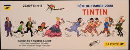 TINTIN - 7 TIMBRES NEUFS** 22,80F  ( 7 à 3,00F Dont 3 Avec 0,60F Pour La Croix Rouge ) - FETE Du TIMBRE 2000 - NEUF** - Stamp Day