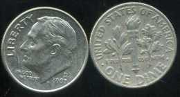 UNITED STATES - USA - 10 Cents  Dimes  2007 D - Émissions Fédérales