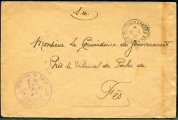 """MAROC - LETTRE EN FRANCHISE MILITAIRE, """" TERRITOIRE DU TADLA """", POSTES AUX ARMÉES / KHENIFRA LE 13/6/1932 - TB - Lettres & Documents"""