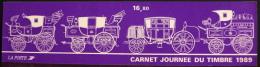 CARNET De 6 TIMBRES NEUFS** 16,80F - JOURNEE Du TIMBRE 1989 - Y & T 8,00€ SOUS FACIALE - Stamp Day