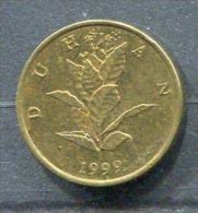Monnaie Pièce CRAOTIE 10 Lipa De 1999 - Croatie