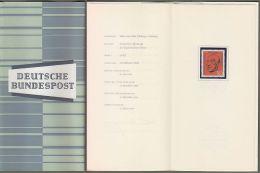 "Bund : Minister Card - Ministerkarte Typ III, Mi-Nr. 567: "" Todestag Bundeskanzler Konrad Adenauer ""  ! - Cartas"