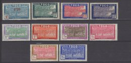 Togo N° 152 / 160 Neufs Avec Charnière * - Togo (1914-1960)