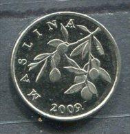 Monnaie Pièce CRAOTIE 20 Lipa De 2009 - Croatie