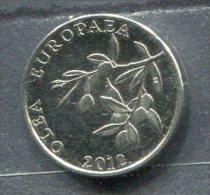 Monnaie Pièce CRAOTIE 20 Lipa De 2012 Entrée Dans L'europe - Croatia