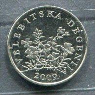Monnaie Pièce CRAOTIE 50 Lipa De 2009 - Croatie