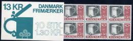DENMARK 1980 Handicrafts 1.30 Kr Complete Booklet MNH / **.  Michel 708 - Booklets
