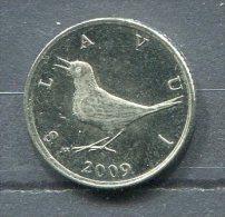 Monnaie Pièce CRAOTIE 1 Kuna De 2009 - Croatie