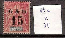Guadeloupe 47e * Côte 31 € - Guadeloupe (1884-1947)