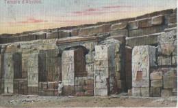 .TEMPLE D4 ABYDOS - Port Said
