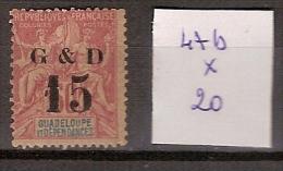 Guadeloupe 47b * Côte 20 € - Guadeloupe (1884-1947)
