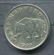Monnaie Pièce CRAOTIE 5 Kuna De 1999 - Croatie