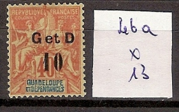 Guadeloupe 46a * Côte 13 € - Unused Stamps