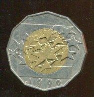 Monnaie Pièce CRAOTIE 25 Kuna De 1999 Bicolore Difficile à Trouver - Croatia