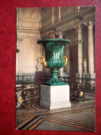 Vase , 1842 - Russian Malachite - The Hermitage , Leningrad - 1980 - Russia USSR - Unused - Museos