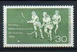 GERMANIA - GERMANY - ALLEMAGNE - BERLINO - 1976 - CAMPIONATO DEL MONDO FEM. DI HOCKEY SU PRATO  - YT 485 ** - Hockey (su Erba)