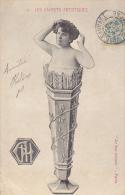 CPA ETERNEL FEMININ FEMME LES CACHETS ARTISTIQUES N°2 1905 SURREALISTE AUTRE - Donne