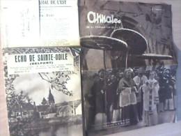 Lot Divers Journaux Religieux Et Bulletins Paroissiaux 1935-1947 Territoire De Belfort - Christianisme