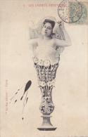 CPA ETERNEL FEMININ FEMME LES CACHETS ARTISTIQUES N°5 1905 SURREALISTE TACHE VOULUE - Women