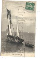 Ault-onival (80) : GP D´un Bateau De Pêche Naviguant En 1910 (animé). - Ault