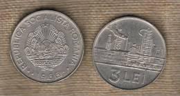 RUMANIA  -  3 Lei 1966  KM96 - Rumania