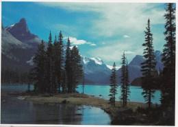 BT16564 Maligne Lake Jasper National Park  2 Scans - Jasper