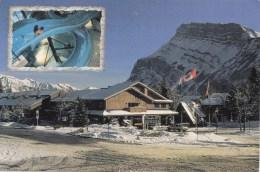 BT16572 Downtown Banff    2 Scans - Banff