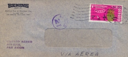 Ecuador 1967 Commercial Cover By Air Mail To USA With Air Mail Stamp 3,00 S. 5th Bolivarian Games - Timbres