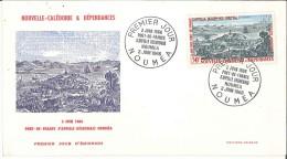 FDC Nouvelle Calédonie Et Dépendances - Port De France S´appelle Désormais Nouméa - 2 Juin 1966 - Neukaledonien