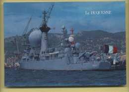 83 Toulon Le Duquesne Batiment De Combat De La Marine Nationale ( Bateau, Navire ) - Guerra